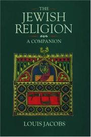 Cover of: The Jewish religion | Louis Jacobs
