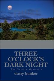 Cover of: Three O
