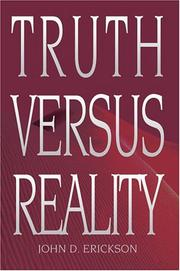 Cover of: Truth versus Reality (N)