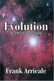 Cover of: Evolution | Frank Arricale