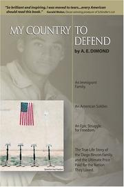 Cover of: My Country to Defend | A E Dimond