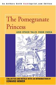 Cover of: The Pomegranate Princess