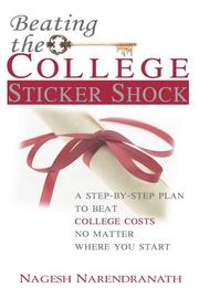 Cover of: Beating the College Sticker Shock | Nagesh Narendranath