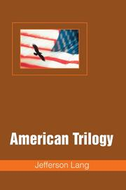 Cover of: American Trilogy | Jefferson Lang