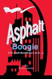 Cover of: Asphalt Boogie | Robert Jonez