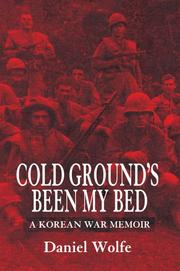 Cover of: Cold Ground