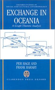 Cover of: Exchange in Oceania