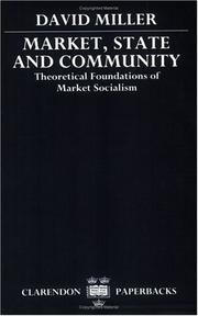 Cover of: Market, State, and Community