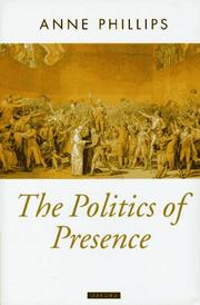 Cover of: The politics of presence