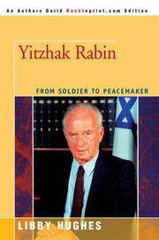 Cover of: Yitzhak Rabin | Libby Hughes