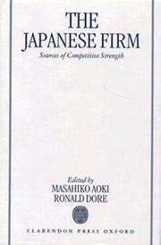 Cover of: The Japanese firm |