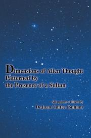 Cover of: Dimensions of Alien Thought Patterned by the Presence of a Sultan | Sultan.