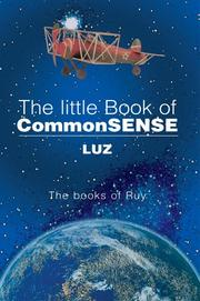 Cover of: The little Book of CommonSENSE | LUZ