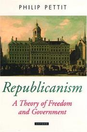 Cover of: Republicanism