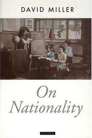 Cover of: On nationality