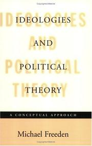 Cover of: Ideologies and Political Theory