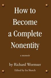 Cover of: How to Become a Complete Nonentity