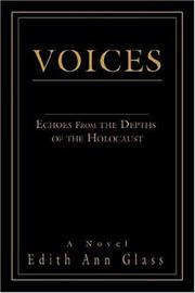 Cover of: Voices | Edith Ann Glass