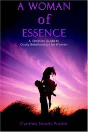 Cover of: A Woman of Essence | Cynthia Smalls-Purdie