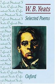Cover of: Wb Yeats