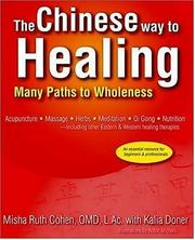 Cover of: The Chinese way to healing
