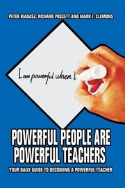 Cover of: Powerful People Are Powerful Teachers | Peter Biadasz