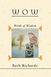 Cover of: W O W | Beth Richards