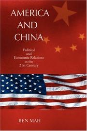 Cover of: America and China | Ben Mah