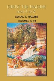 Cover of: Christ the Teacher From A to Z | Jamal Halabi