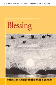 Cover of: Blessing | Christopher Jane Corkery