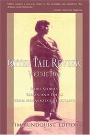 Cover of: Otter Tail Review, Volume Two: More Stories, Essays, and Poems from Minnesota's Heartland