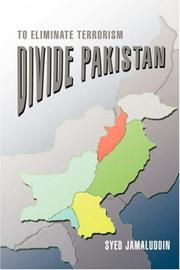 Cover of: Divide Pakistan | Syed Jamaluddin