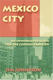 Cover of: Mexico City | Jim Johnston
