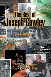 Cover of: The Best of Joseph Cowley | Joseph Cowley