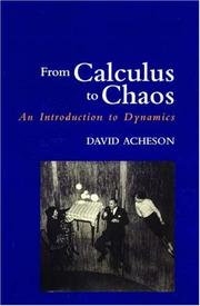 Cover of: From calculus to chaos
