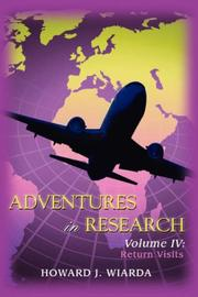 Cover of: Adventures in Research: Volume IV: Return Visits