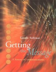 Cover of: Getting the message