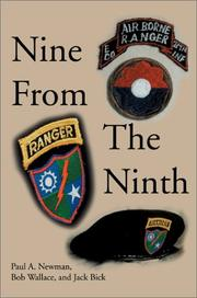 Cover of: Nine from the Ninth | Paul A. Newman