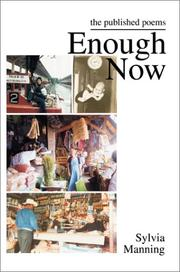 Cover of: Enough Now | Sylvia A. Manning