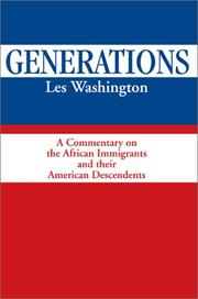 Cover of: Generations | Les Washington