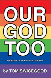 Cover of: Our God Too | Tom Swicegood