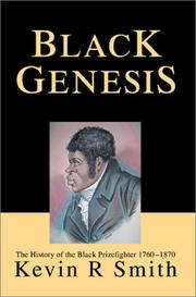 Cover of: Black Genesis | Kevin R. Smith