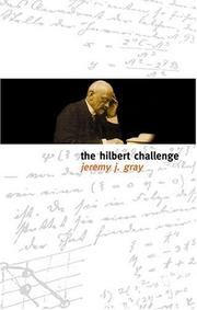 Cover of: The Hilbert Challenge