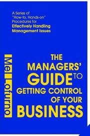 Cover of: The Managers