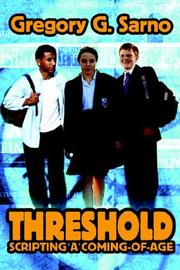 Cover of: Threshold | Gregory G Sarno