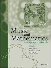 Cover of: Music and mathematics