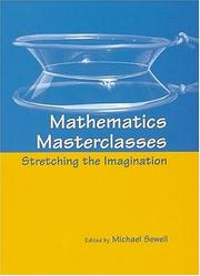 Cover of: Mathematics Masterclasses | Michael J. Sewell