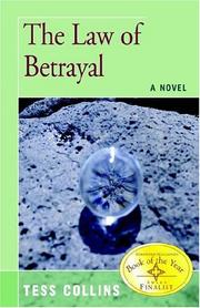 Cover of: The Law of Betrayal | Tess Collins
