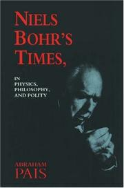 Cover of: Niels Bohr's times