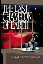 Cover of: The Last Champion of Earth | Donald I. Templeman